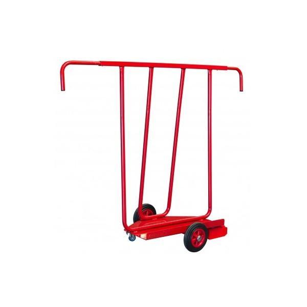 Chariot porte panneaux 400 kg roues caoutchouc - Roue caoutchouc chariot ...