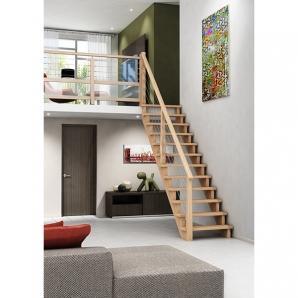 escalier droit 2m50