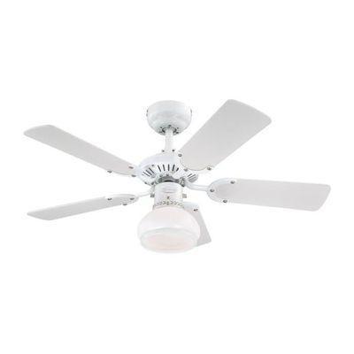 Ventilateur plafond Apollo Design /& COMBINE BLANC 105 CM