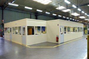 Bureaux modulaires amge industrie - Bureau modulaire interieur ...