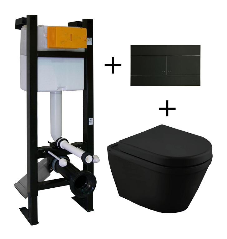 Wc regiplast achat vente de wc regiplast comparez les prix sur - Cuvette wc suspendu noir ...