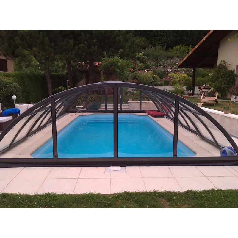 Abri de piscine semi haut pyla b for Abris piscine uv