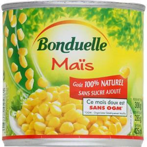 Bonduelle mais doux en grains 285 g - Grosse boite de conserve ...