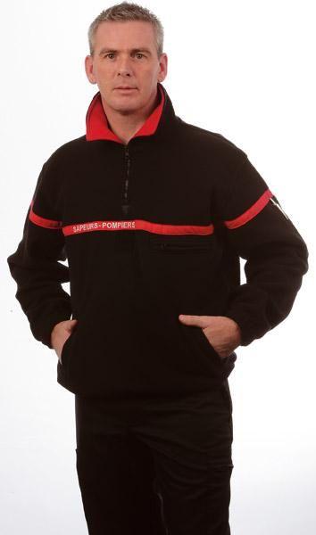 Sweat-shirts à col zippé