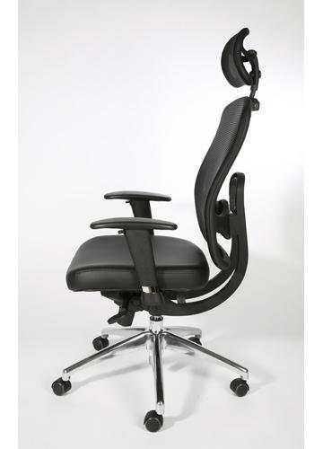 fauteuil bureautique synchrone cuir alex c. Black Bedroom Furniture Sets. Home Design Ideas