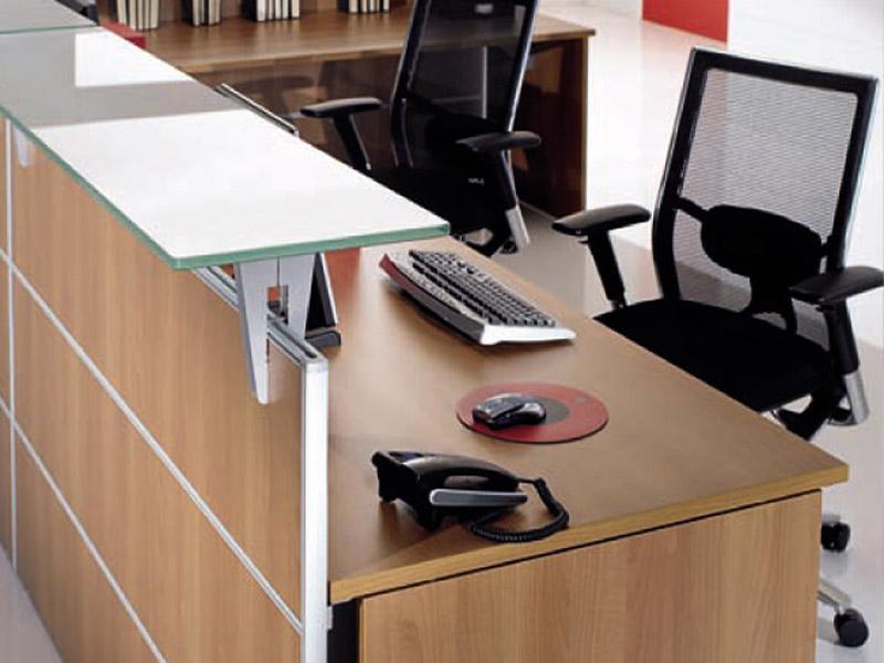 Comptoir de réception en bois 59 modèles en vente via hellopro.fr