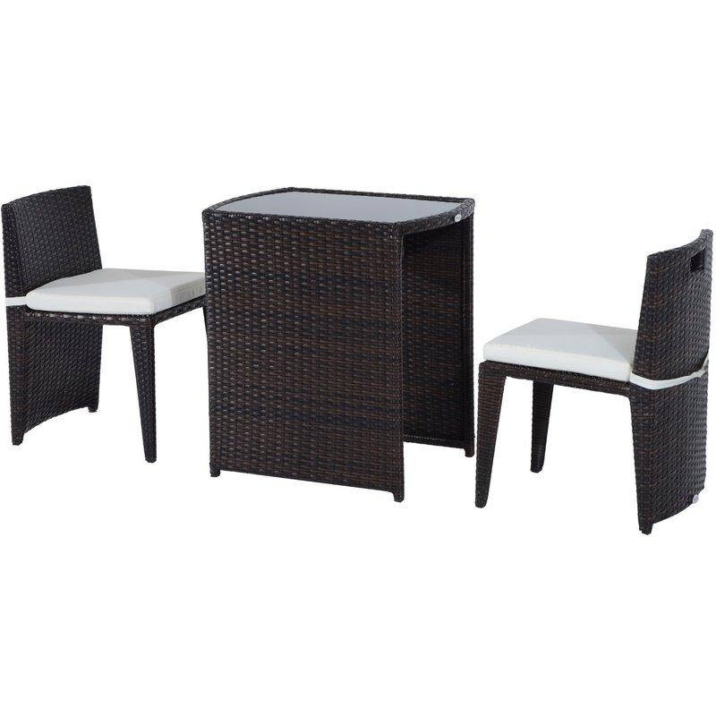 salon de jardin outsunny achat vente de salon de. Black Bedroom Furniture Sets. Home Design Ideas
