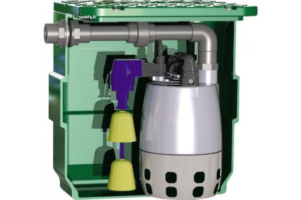Poste de relevage pour eaux légérement chargées - rmvcal40 gxvm 25-6 gfaca