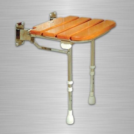 siege de bain et douche avec assise bois. Black Bedroom Furniture Sets. Home Design Ideas