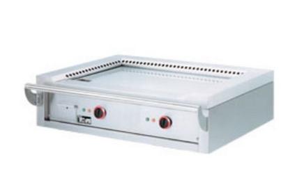 Teppanyaki gaz acier rectifie a poser 120 x 70 x 2 cm diamond - Plancha teppan yaki 70 cm ...