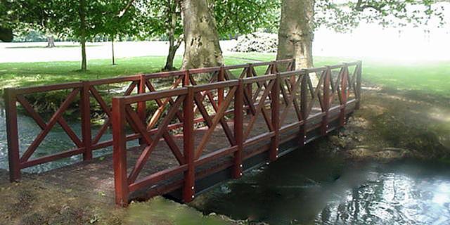 Petits ponts et passerelles tous les fournisseurs passerelle en bois de jardin passerelle - Passerelle en bois pour jardin ...