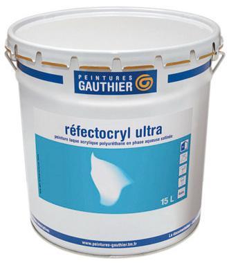 REFECTOCRYL ULTRA PEINTURE GAUTHIER - BLANC - 10L - 13093