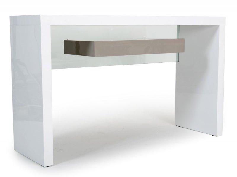 Console Space Blanc Laque
