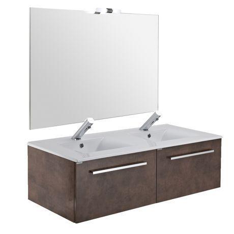 Mobiliers de salle de bain sanindusa achat vente de - Fixation meuble salle de bain suspendu ...