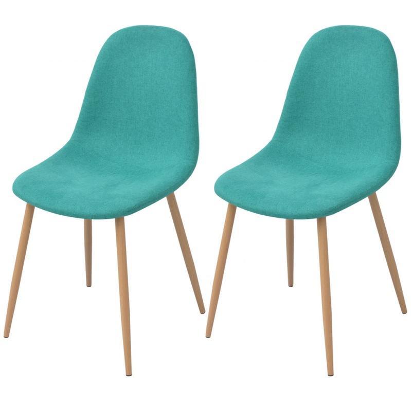 Chaise et fauteuil d 39 ext rieur vidaxl achat vente de for Chaise de salle a manger verte