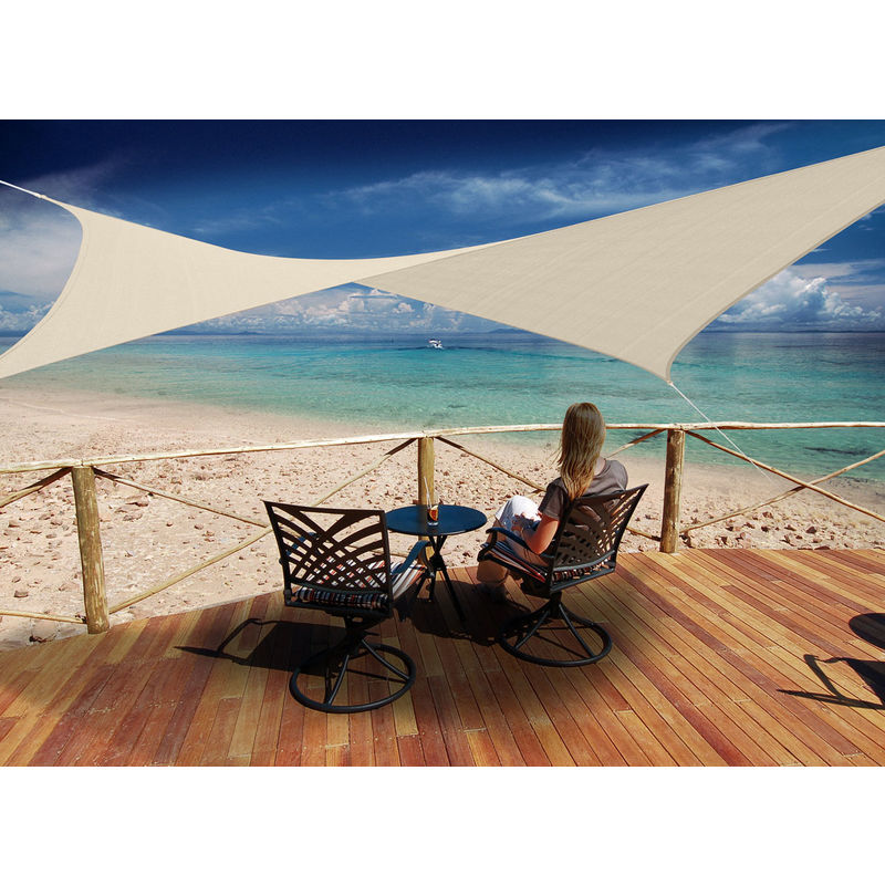 toiles d 39 ombrage jardideco achat vente de toiles d. Black Bedroom Furniture Sets. Home Design Ideas
