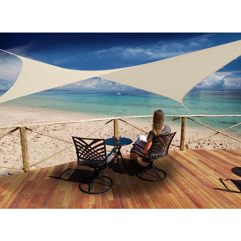 toiles d 39 ombrage jardideco achat vente de toiles d 39 ombrage jardideco comparez les prix sur. Black Bedroom Furniture Sets. Home Design Ideas
