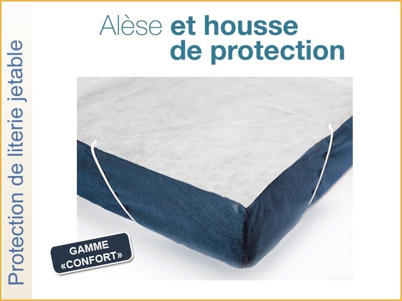 ALÈSE PLATEAU JETABLE GAMME CONFORT 160X200 RÉF.AL160/200