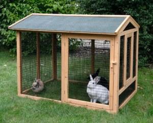Abris pour rongeur domestique comparez les prix pour for Abri lapin exterieur