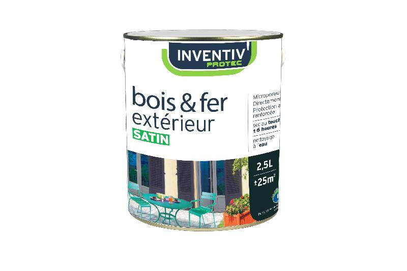 INVENTIV' SPÉCIALE BOIS ET FER EXTERIEUR BLEU VIOLACÉ SATIN 2,5L
