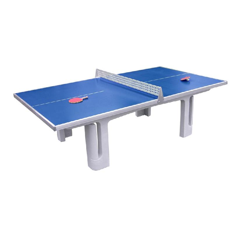Table ping pong en beton polymere solido p30 maillith - Table de ping pong exterieur en beton ...