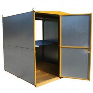 abris de chantier cabane a plan grand modele. Black Bedroom Furniture Sets. Home Design Ideas
