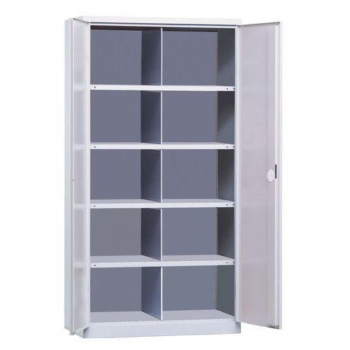 armoire porte battante 1000 10 compartiments comparer les prix de armoire porte battante. Black Bedroom Furniture Sets. Home Design Ideas