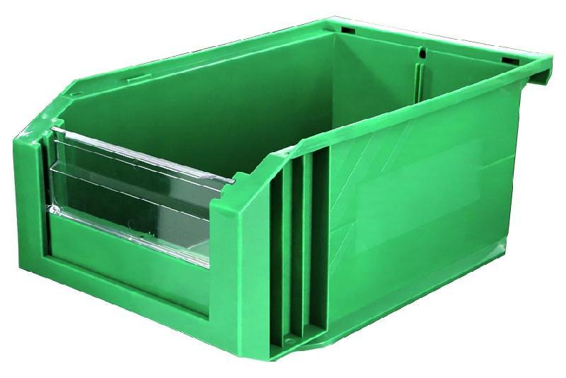 Bac Européan 8L Vert avec Volet Abattant - 5042045
