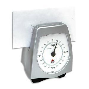 pese lettre Alba pese lettres mecanique 1kg gris metal pese lettre