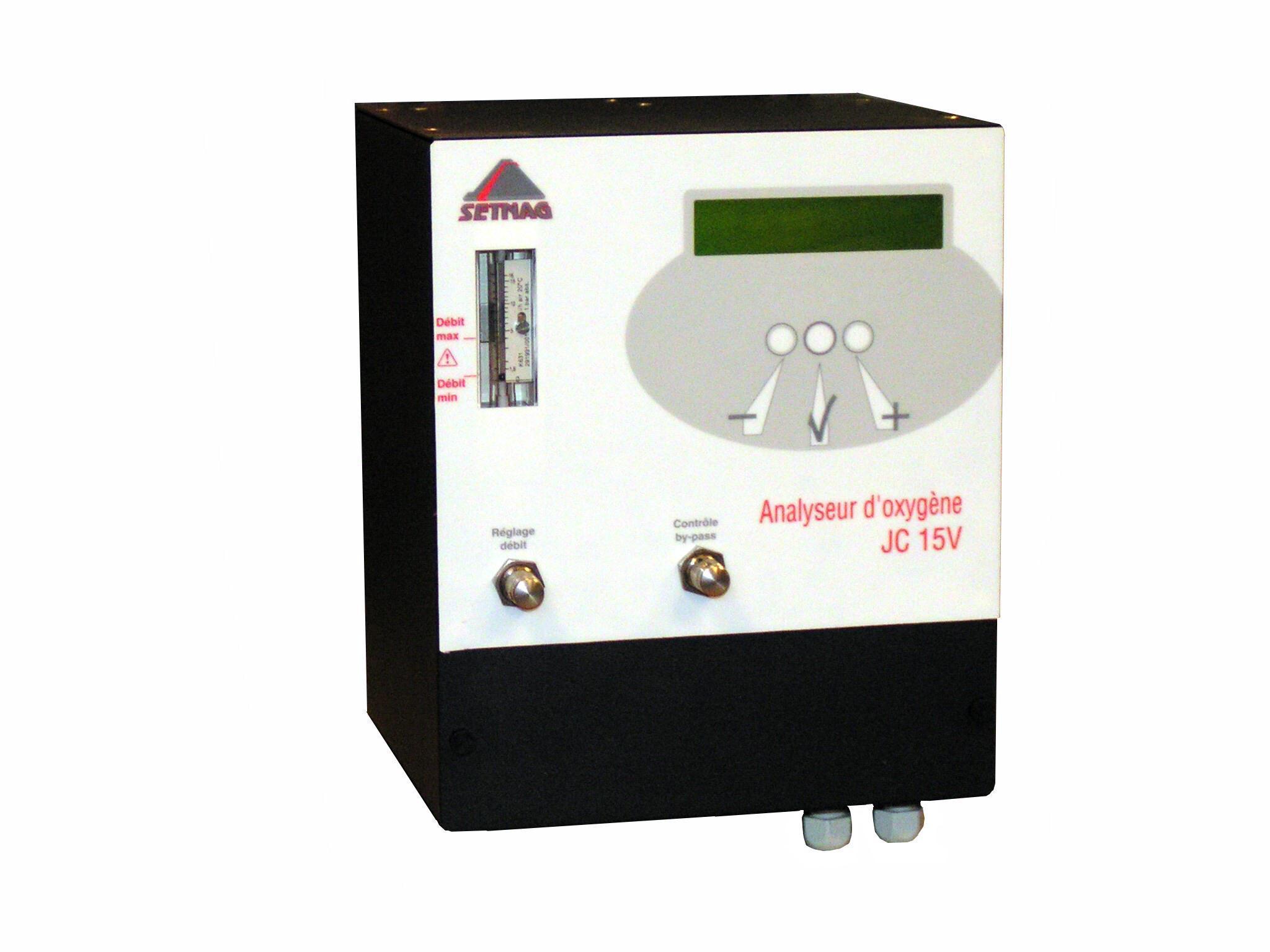 Analyseur d'oxygene jc15v