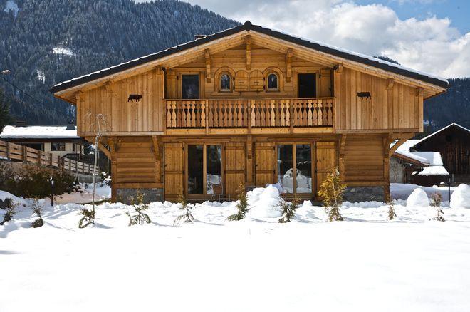 Maisons bois en haute savoie a morzine for Construction maison contemporaine haute savoie