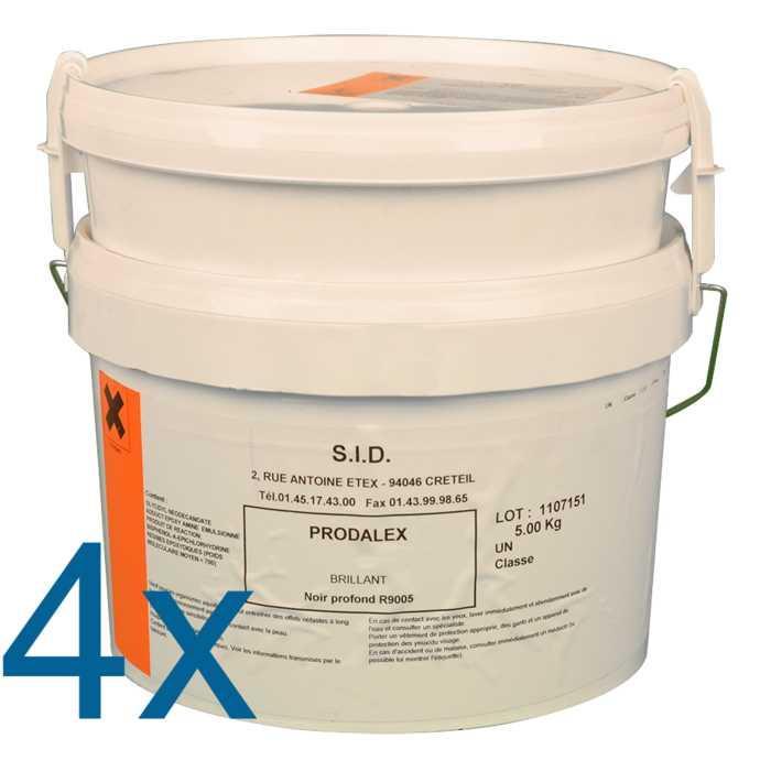 Revêtement de sol époxy à deux composants en phase aqueuse prodalex