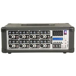 Console de mixage amplifiee a 8 canaux 100w rms - Console de mixage amplifiee ...
