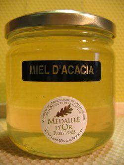 miel d'acacia histoire
