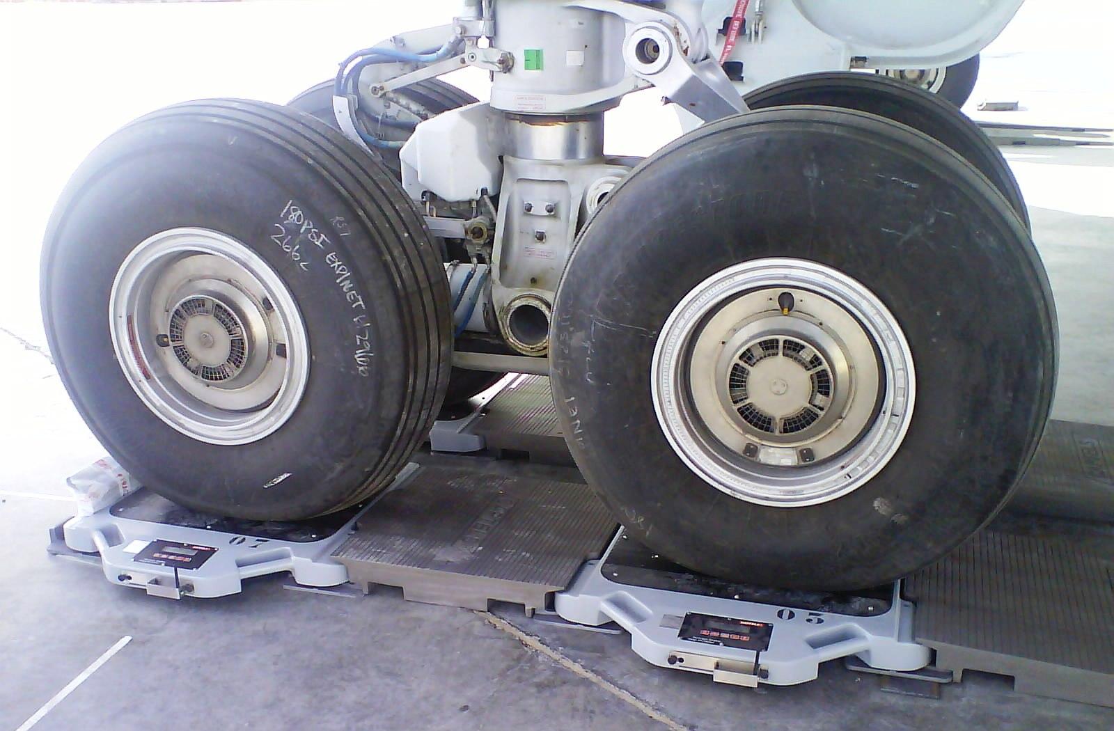 Pesages aéronautiques portables