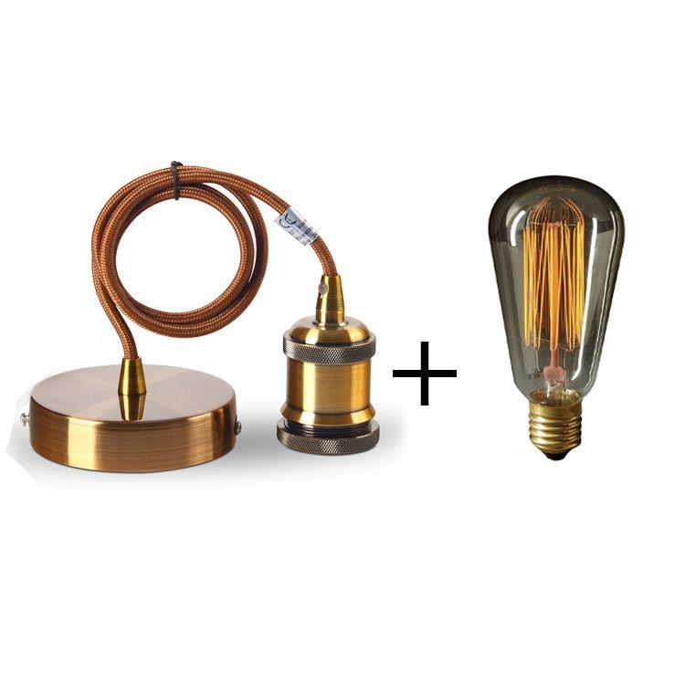 suspension ampoule filament great suspension e design ampoule filament verre transparent x w. Black Bedroom Furniture Sets. Home Design Ideas