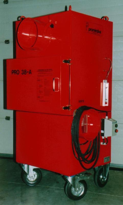 Caisson deprimogene et filtration d'air 3 000 m³/ h secteur nucleaire