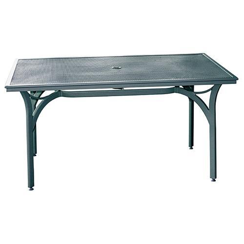 Tables de jardins tous les fournisseurs table de for Table d exterieur en aluminium