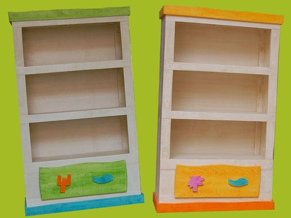 meubles enfants petite bibliotheque en bois ref bib ben. Black Bedroom Furniture Sets. Home Design Ideas