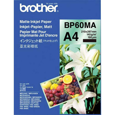 BROTHER INNOBELLA PREMIUM PLUS BP71GA4 - PAPIER PHOTO BRILLANT - A4 - 260 G - PAQUET 20 FEUILLES