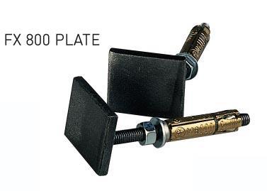 CHEVILLE DE FIXATION FX 800 PLATE