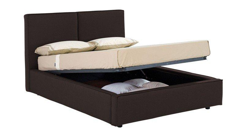 lit coffre design squadra couchage 1 personne 80 190cm. Black Bedroom Furniture Sets. Home Design Ideas
