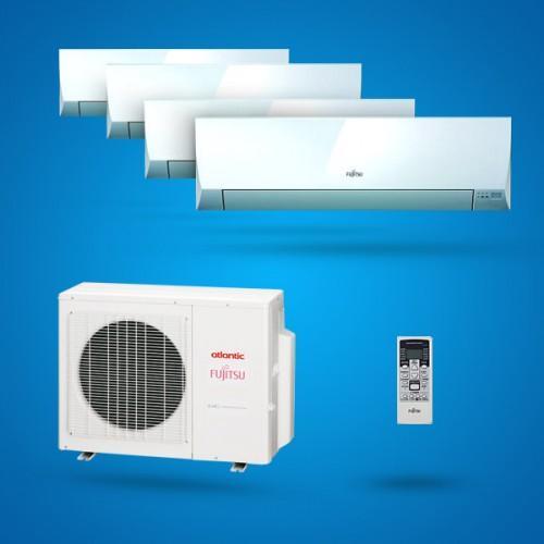climatiseurs multisplits inverter atlantic fujitsu achat vente de climatiseurs multisplits. Black Bedroom Furniture Sets. Home Design Ideas