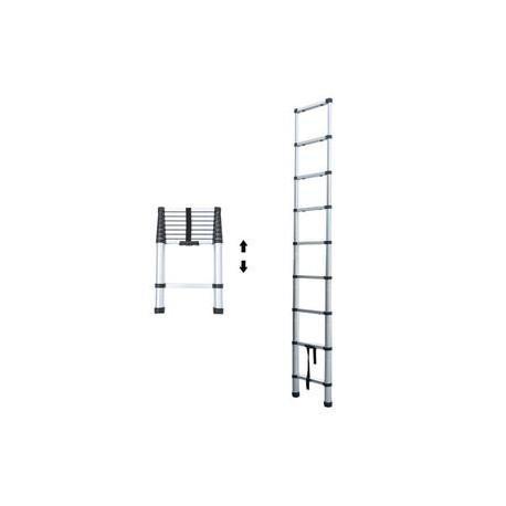 echelle telescopique aluminium 2 6 m. Black Bedroom Furniture Sets. Home Design Ideas