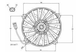 Ventilateurs pour moteurs thermiques