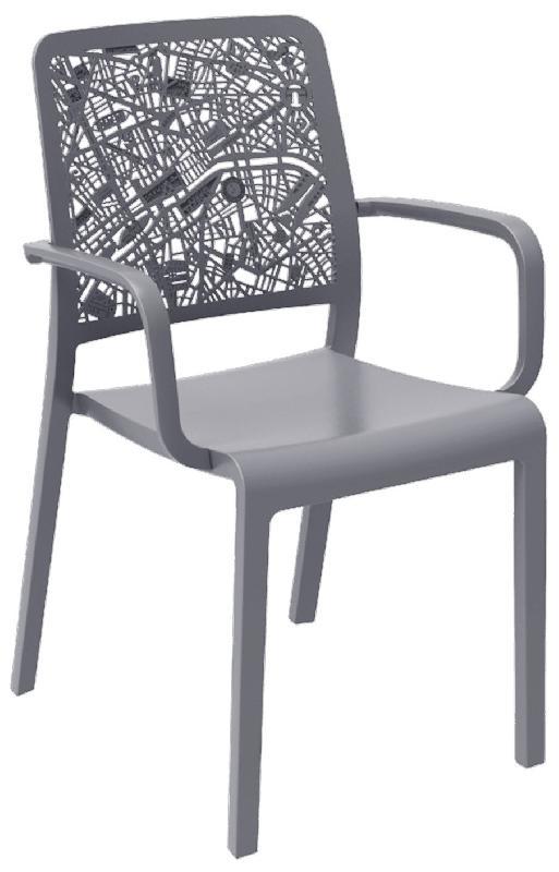 Chaise et fauteuil d 39 ext rieur evolutif achat vente de for Fauteuil exterieur gris