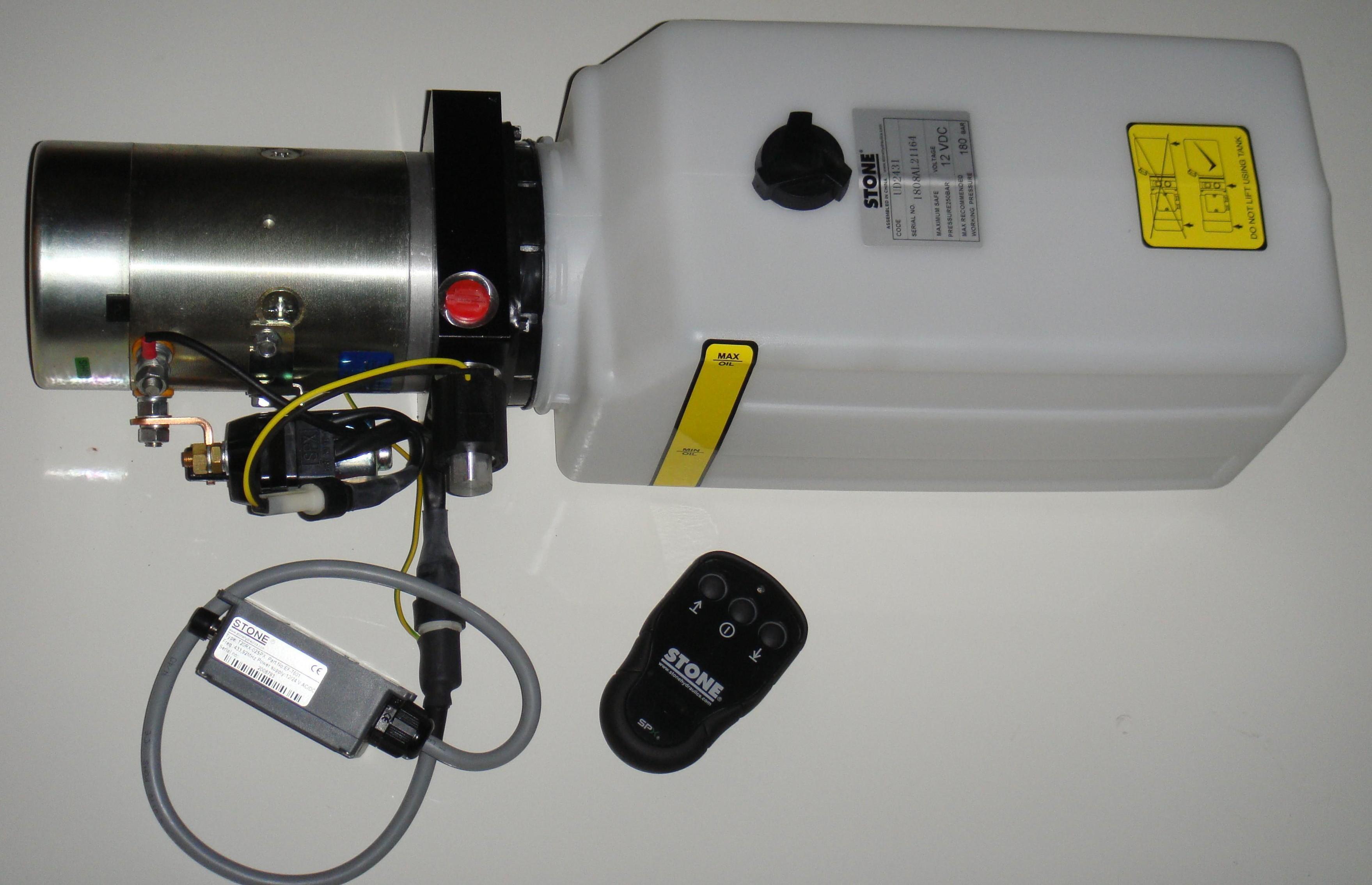 Mini Centrale Hydraulique Radio Commande