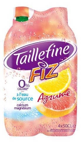 EAU TAILLEFINE FIZ AGRUMES 50 CL - CARTON DE 24 BOUTEILLES - TAILLEFINE