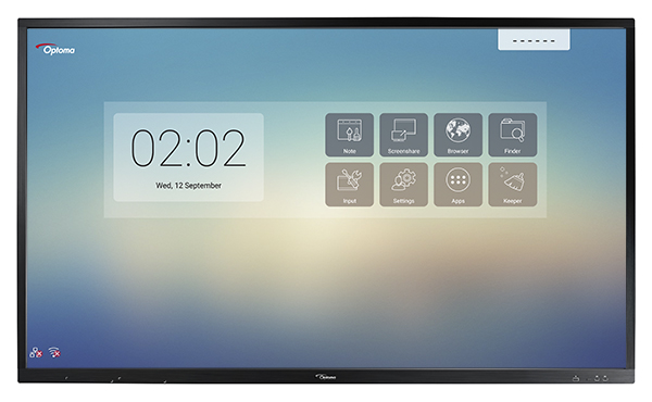 écran tactile interactif multi-touch optoma op651rk