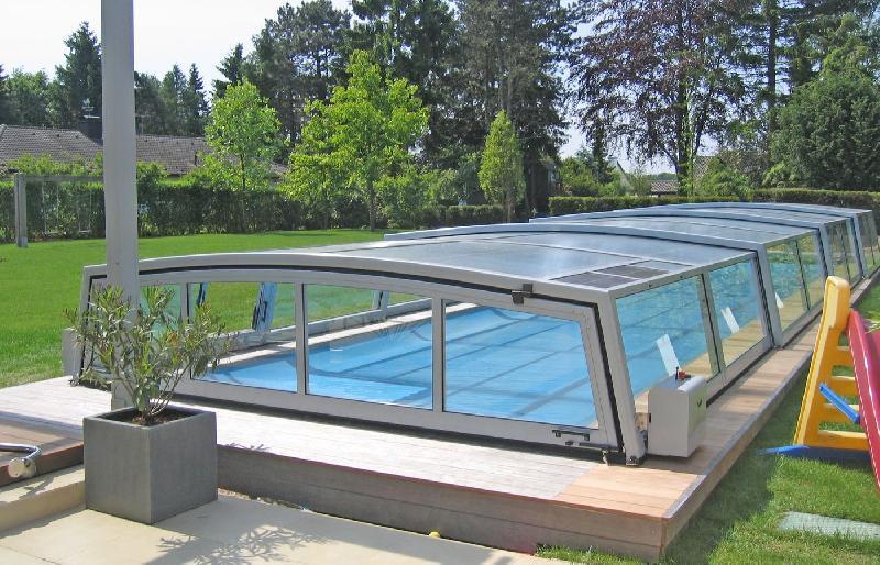Paradiso produits abris de piscines for Piscine caoutchouc construction